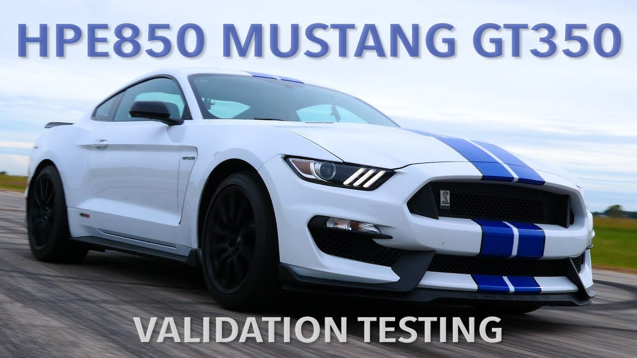 Hennessey Gt350 Faster Than 2020 Gt500 Mustang Youtube