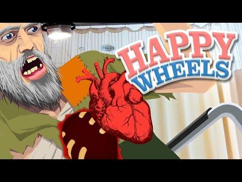 Happy Wheels - HEART DONATION LEVELS - Part 8