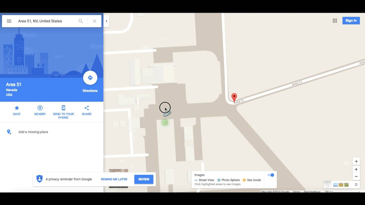 Google Maps Area 51 Ufo Easter Egg Must See Youtube