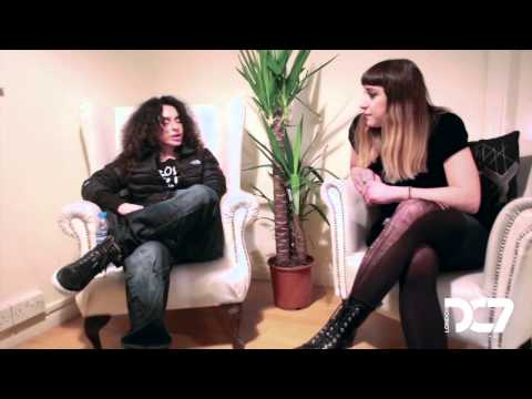 NICOLE MOUDABER - INTERVIEW | 30.03.2013 | DC7 LONDON TV @ EGG LDN