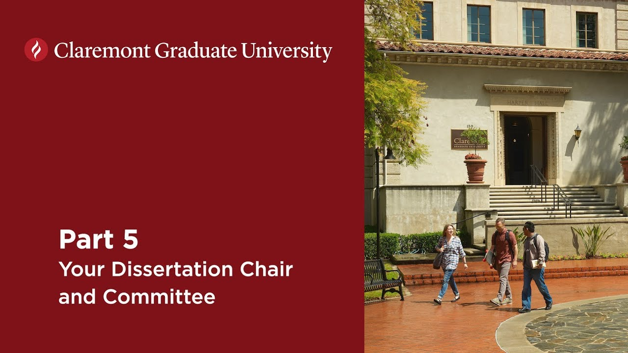 Change dissertation committe chair