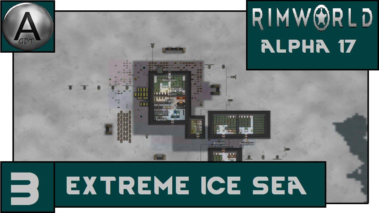 Rimworld Alpha 17: Extreme Ice Sea (Ice Sheet) - Episode 3