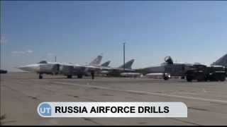 Russian Air Force Drills: Fighter jets practice combat maneuvers close to Ukrainian conflict zone