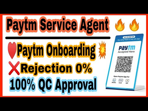 paytm-service-agent-onboarding-process-without-rejection-||-psa-rejection-solution