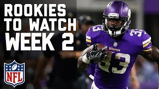 Top 5 Rookies to Watch in Week 2  NFL
