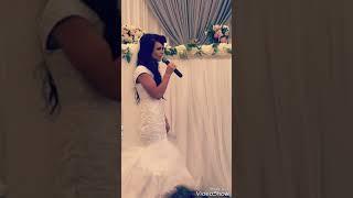 Tony & Tasha  ♡ невеста поёт жениху ♡  красиво очень