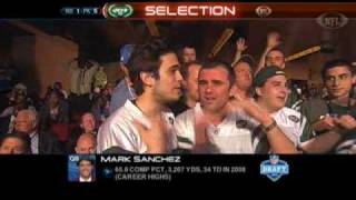 new york jets 2009 NFL Draft  pick Mark Sanchez