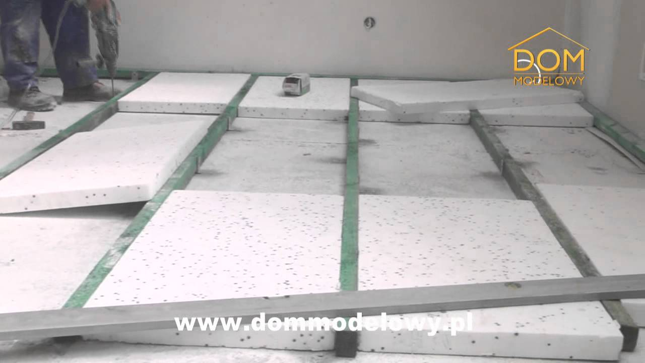 Ocieplenie podłogi strychu