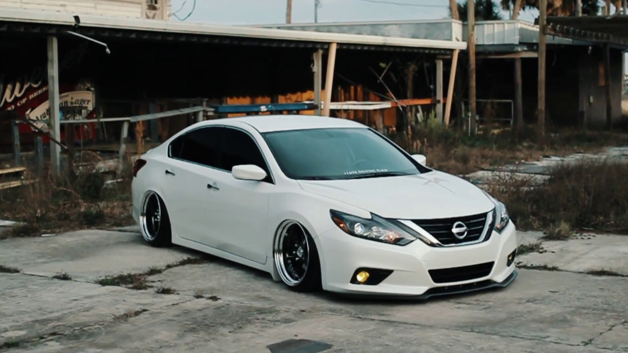Bagged Nissan Altima Stxcks Youtube