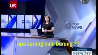 Indonesian News Anchor Blooper