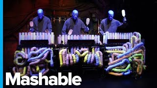 After 27 Years, the Blue Man Group is Using a New PVC Pipe