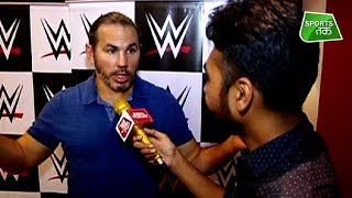 WWE: Matt Hardy Exclusive Interview With Rasesh Mandani | Sports Tak