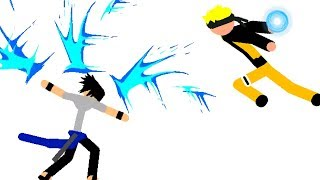 NARUTO VS SASUKE (STICKMAN FIGHTER)