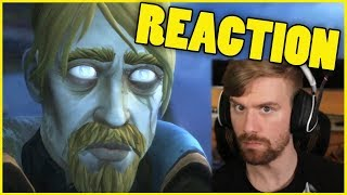 Baine BETRAYS the Horde Cinematic Reaction LIVE | 8.1.5 Unexpected Reunion Cinematic