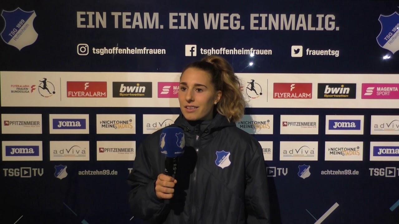 🎥 Anne Fühner blickt auf die morgige Partie gegen den 1. FC Köln