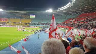Österreich gegen Nordirland 12.10.18 Ernst Happel Stadion Bundeshymne Österreich