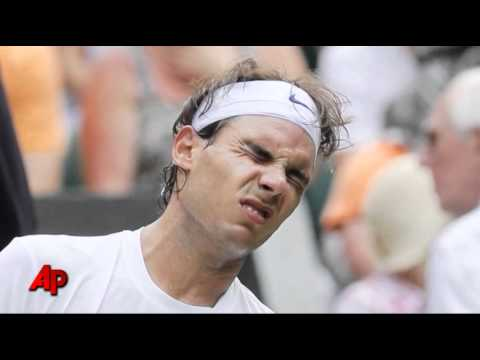 Nadal Worried About Foot Injury at Wimbledon