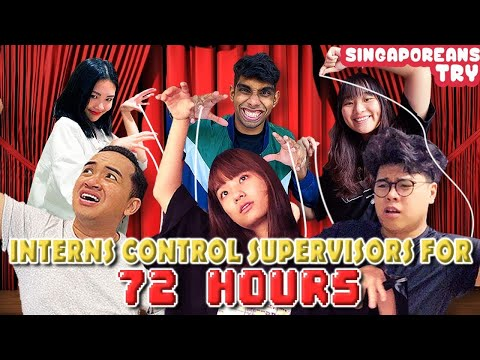 Singaporeans Try: Interns Control Supervisors' Lives For 72 Hours