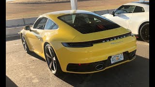 homepage tile video photo for The Porsche 992 Carrera S is Great at Everything - (Track) One Take