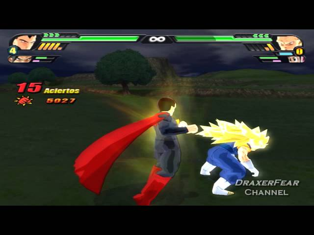 Dragon Ball Z Budokai Tenkaichi 3 Versión Latino - Superman / Goku vs Gogeta / Bills / Vegetto / Hatchiyack | Dragon Ball Z Tenkaichi 3 latino Videos De Viajes