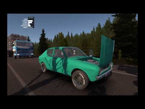 my summer car - engine blow up and log truck hit my satsuma