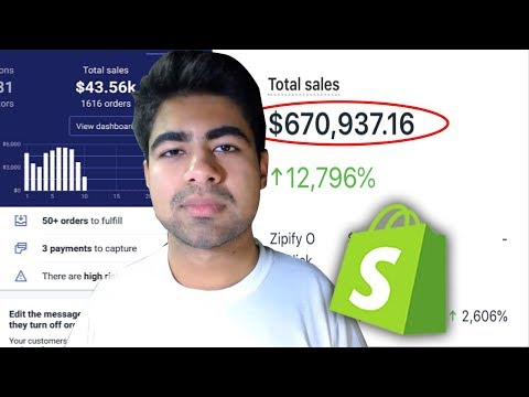 My FULL 6-Figure Shopify Dropshipping Strategy (Step By Step Guide) thumbnail