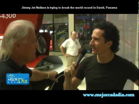 """Jimi Jet Neilsen"" will attemp to break world record in David, Panama"