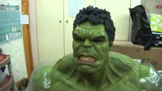 "Hot Toys 1/6 Scale The Avengers HULK 16.5"" Collectible Figure In Stock Now"