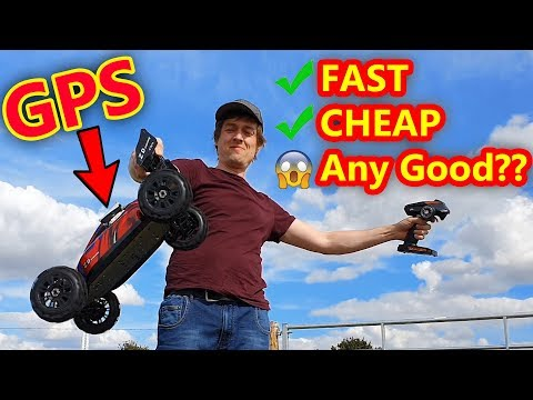 BiG Cheap FAST RC Buggy Car TEST + Pat gets told off (LOL)