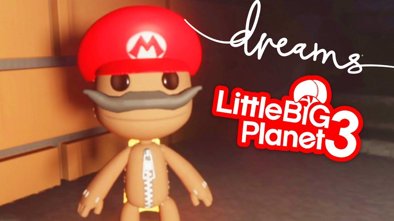 Sackboy's Search For Wario - Dreams PS5 | EpicLBPTime