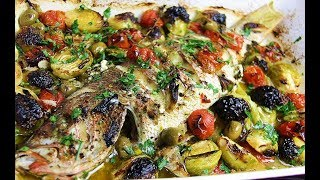 Oven Roasted Yellow Tail Snapper #pescatarian | CaribbeanPot.com