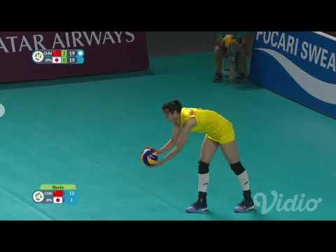 Volley Ball Womens China Vs Japan ASIAN GAMES