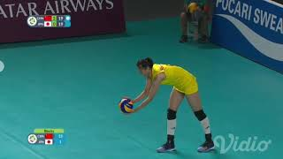 Volley Ball Womens China Vs Japan ASIAN GAMES