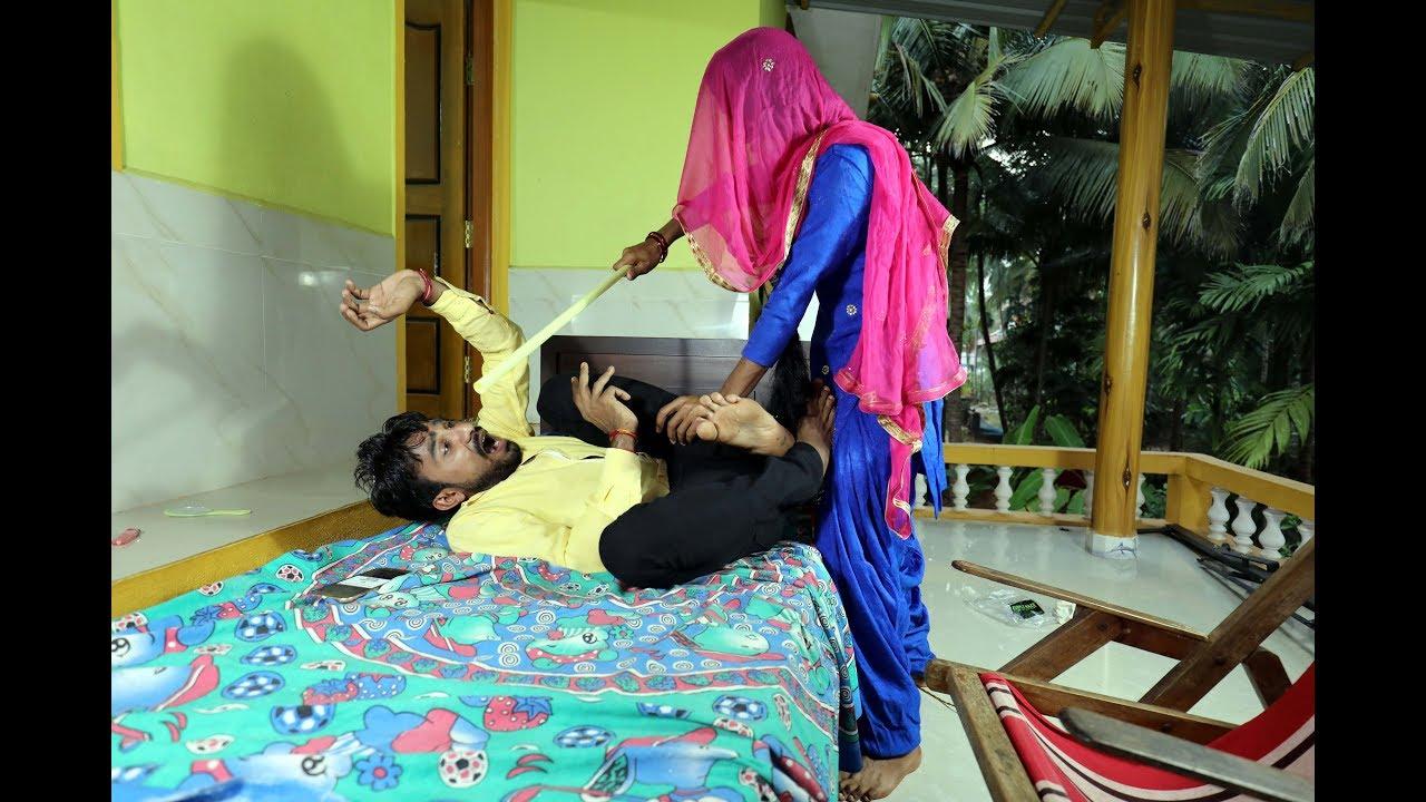 लुगाई से बदला पड़ा महंगा, मेरी लुगाई ने  करदी  धुलाई Husband / Wife Rajasthani full Comedy Video