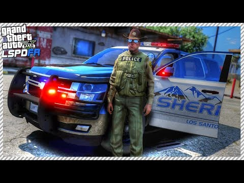 GTA 5 LSPDFR #2 - Sheriff Patrol in 2015 Chevy Tahoe, Reported Call of Drunk Driver