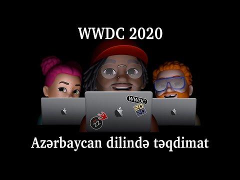 Apple WWDC 2020 Azerbaycan dilinde teqdimatı –  iOS14, iPadOS14, WhatchOS, AppleTV, MacOS Big Sur