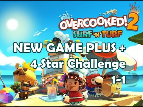 Overcooked! 2 Surf 'n' Turf (NG+) # 1-1 |