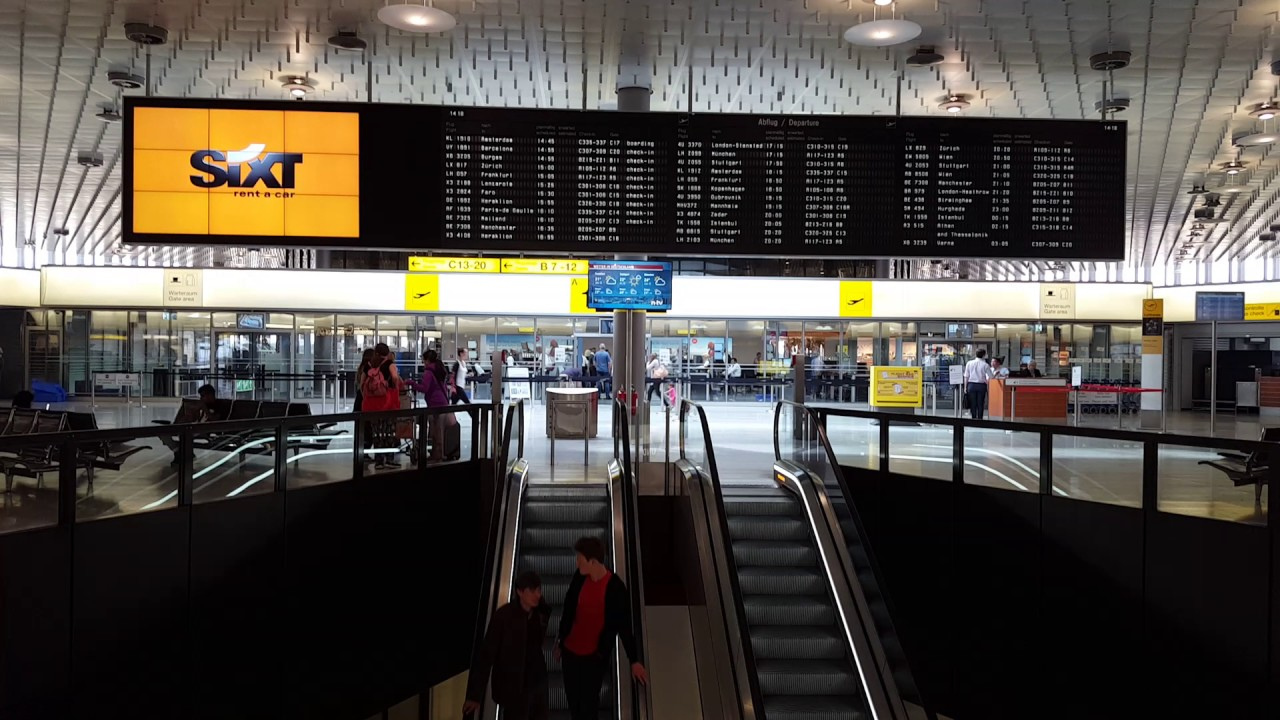 hannover airport departures