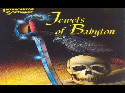 C64 Game: Jewels of Babylon