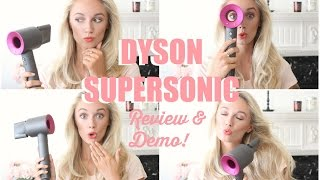 Dyson Supersonic Hairdryer Review & Demo!        Fashion Mumblr