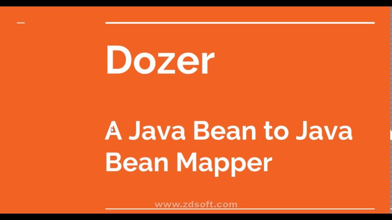 Dozer a powerful yet simple java bean to java bean mapper youtube dozer a powerful yet simple java bean to java bean mapper baditri Gallery