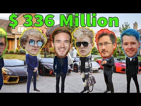 10 Самых богатых ютуберов в 2019 году