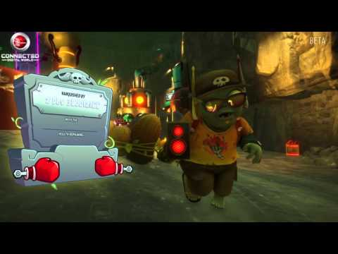 Plants vs Zombies Garden Warfare 2  Moonbase Z Herbal Assault Plants Gameplay