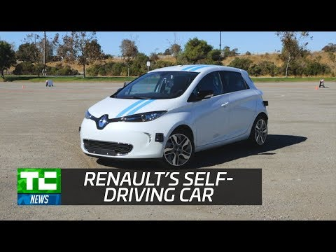 Renault's self-driving car avoids obstacles as well as pro drivers