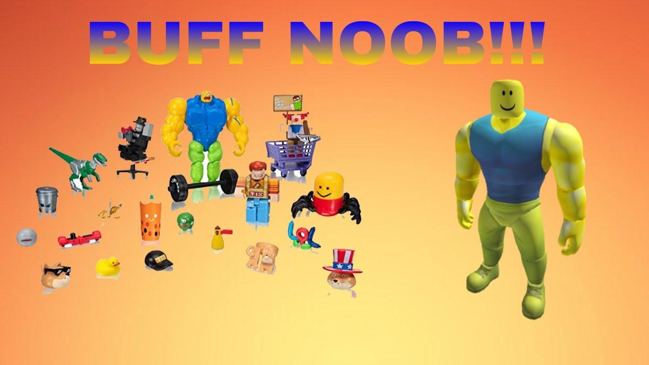 Roblox Buff Noob Package Showcase Youtube