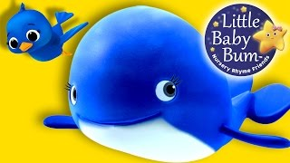 Learn with Little Baby Bum | The Little Blue Whale | Nursery Rhymes for Babies | Songs for Kids