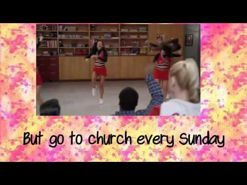 GLEE-Nutbush City Limits with lyrics