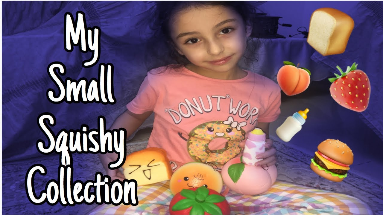 Squishy Collection Small : My Small Squishy Collection (my first ever video) - YouTube