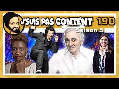 J'SUIS PAS CONTENT ! #190 : Redevance pour tous, Aznavour VS Macron & O'Petit VS Langue française !