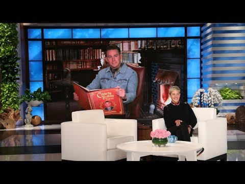 Channing Tatum Reads Us A Bedtime Story On Ellen